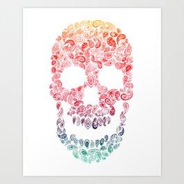 Death By Paisley Art Print