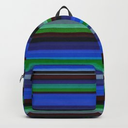 Colored Lines - Blue Backpack