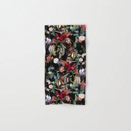 Floral and Birds IX Hand & Bath Towel