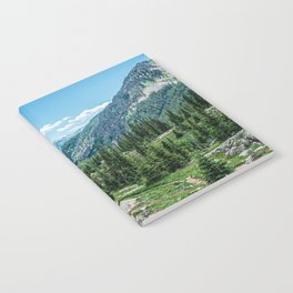 Colorado Wilderness // Why live anywhere else? Amazing Peaceful Scenery with Evergreen Dusted Hills Notebook