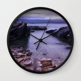 Godrevy, Cornwall, England, United Kingdom Wall Clock