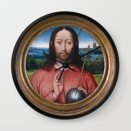 Salvator Mundi,1480–85 Wall Clock