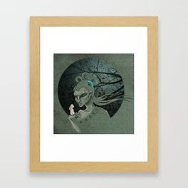 Chang'e, the Moon Goddess Framed Art Print