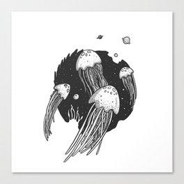 SpaceJelly Canvas Print