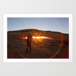 J BOND... At Sunrise Art Print