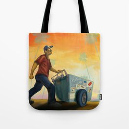 Paletero On the Move in the LA Sunset Tote Bag