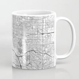 Colorado Springs Map Line Coffee Mug