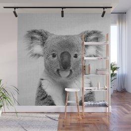 Koala 2 - Black & White Wall Mural