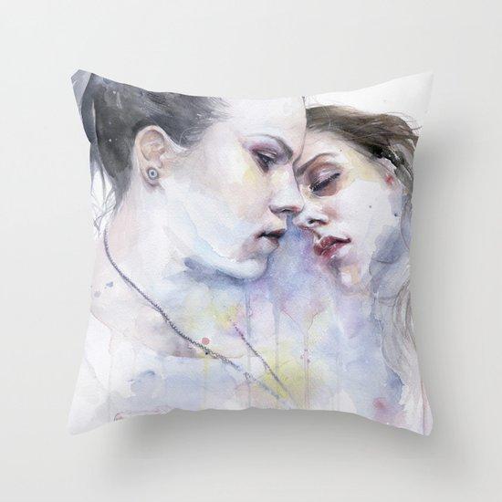 xx Love Throw Pillow