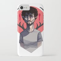 will graham iPhone & iPod Cases featuring Will Graham by nucleir