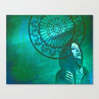 gothic Canvas Prints featuring Gothic by ARTito