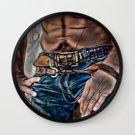 Impressive Belt Wall Clock