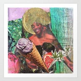 Black Hedone Art Print