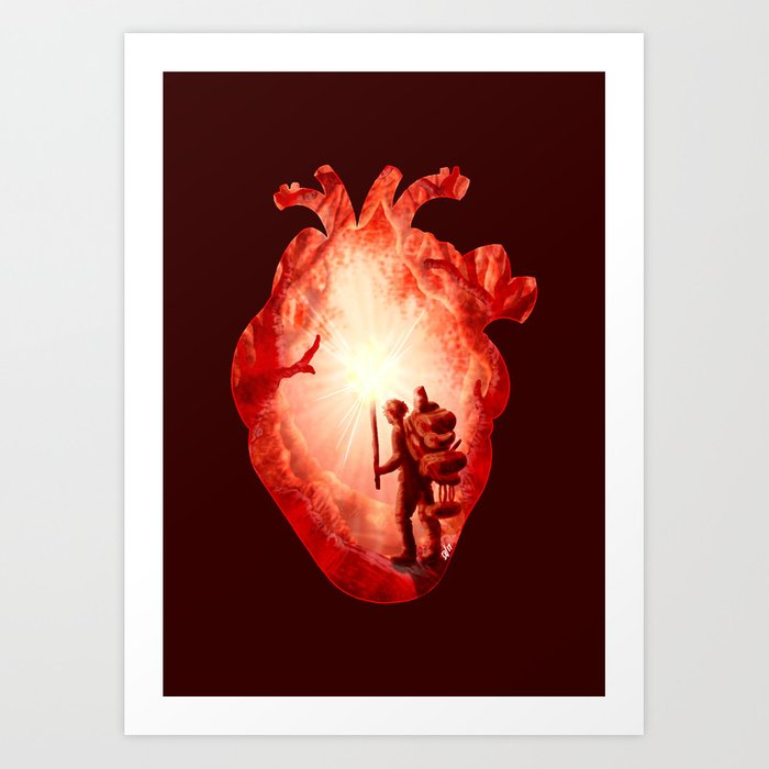 Guiding Light Art Print