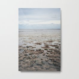 Photo of a sunset at the Waddensea, Friesland, The Netherlands | Colorful travel photography | Metal Print