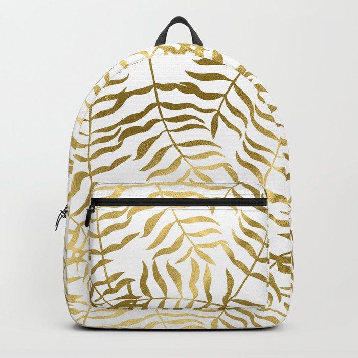 Gold Leaves 2 Backpack