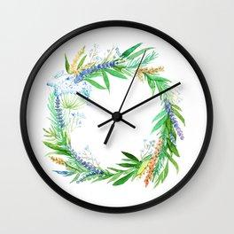 Wreath of joy! Wall Clock