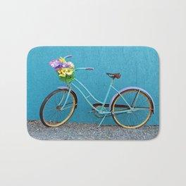 Antique Bicycle Bath Mat