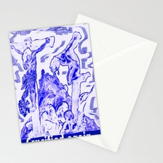 Crucified again Stationery Cards