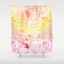 Fall's gold Shower Curtain