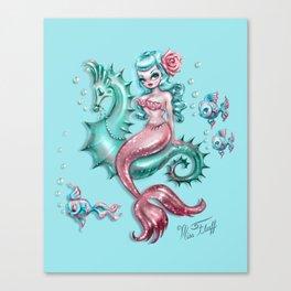 Mysterious Mermaid Canvas Print