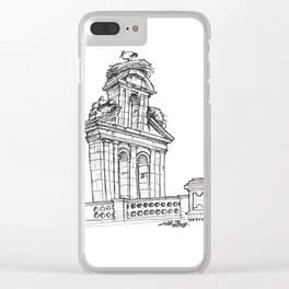 Bell gable Clear iPhone Case
