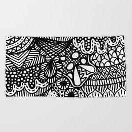 Doodle 13 Beach Towel