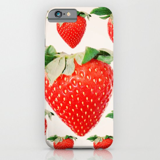 strawberry explosion iPhone & iPod Case
