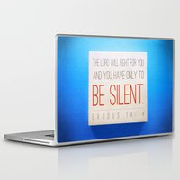 silent hill Laptop & iPad Skins featuring SILENT by Peter Gross