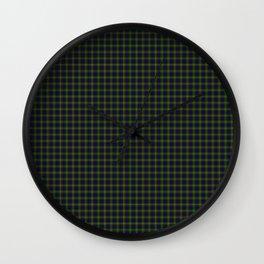 Clan Ranald Tartan Wall Clock