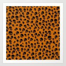 Death Lepard Art Print