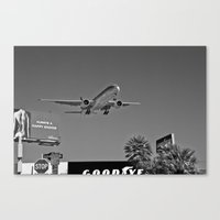 airplane Canvas Prints featuring Airplane by Nick Douillard