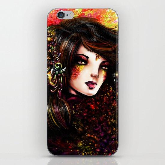 WILD WOMAN iPhone & iPod Skin
