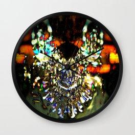 Look Into The Kaleidoscope. Wall Clock