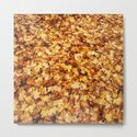 Gold yellow fall maple leaves by pldesign