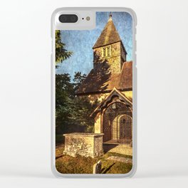 St Laurence Church Tidmarsh Clear iPhone Case