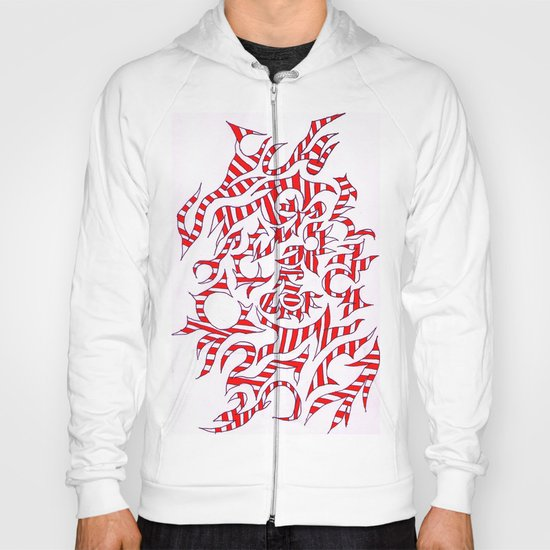 Abstract Expressionism Hoody
