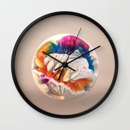 ACRYLIC BALL II // 3D ABSTRACT Wall Clock