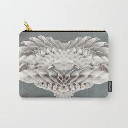 Feathers of Ivory Carry-All Pouch