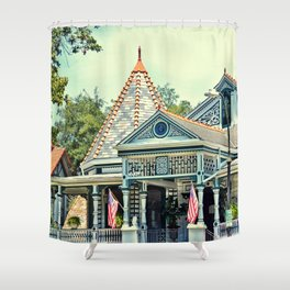American Victorian House Shower Curtain