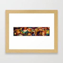 Get Drunk Framed Art Print