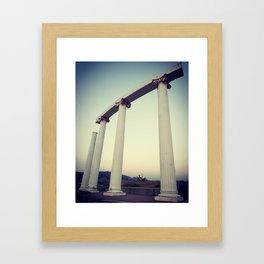 ISU Framed Art Print