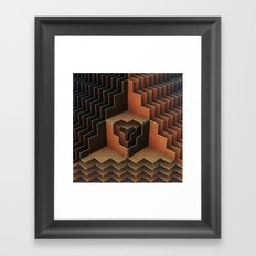 Geo Metric Framed Art Print