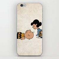 charlie brown iPhone & iPod Skins featuring Charlie Brown by Lucas de Souza