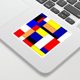 Mondrian #1 Sticker