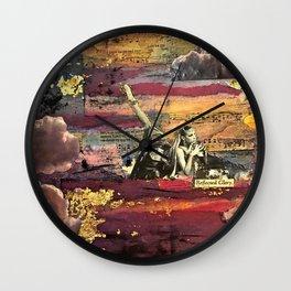 Reflected Glory Wall Clock