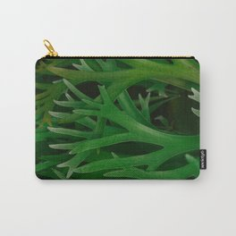 Staghorn Ferns Pattern Carry-All Pouch