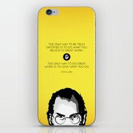 Steve Jobs Quote iPhone Skin