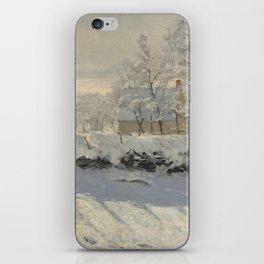 Claude Monet  -  The Magpie iPhone Skin