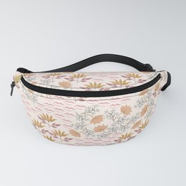 Field of Kisses. Bohemian Floral Fanny Pack